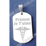Plaque Militaire - Medical
