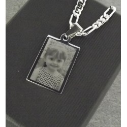 Pendentif Rectangulaire - Photo